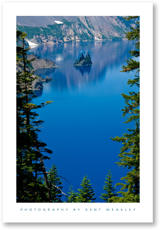 Crater Lake – Water and Fire