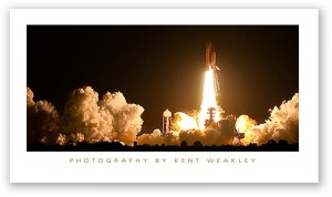 How to Photograph a Space Shuttle Night Launch