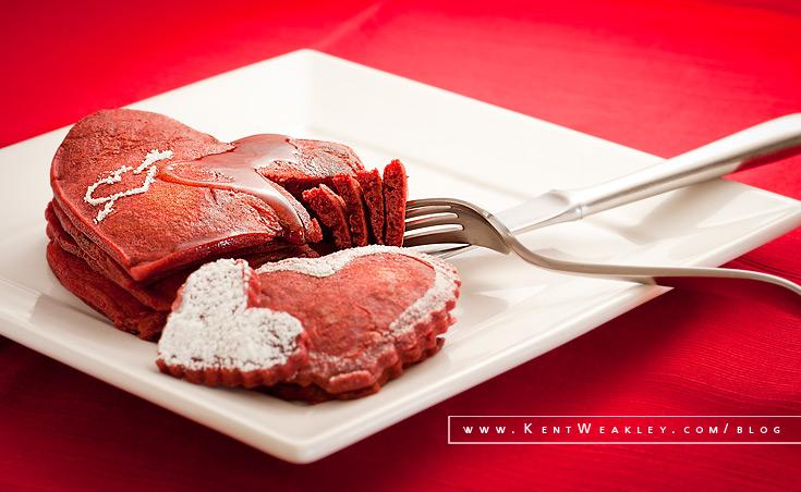 Red Velvet Valentine ~ Food Photography