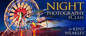 Night Photography eClass Kent Weakley