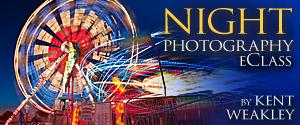 Night Photography eClass Kent Weakley