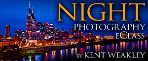 Night Photography eClass by Kent Weakley