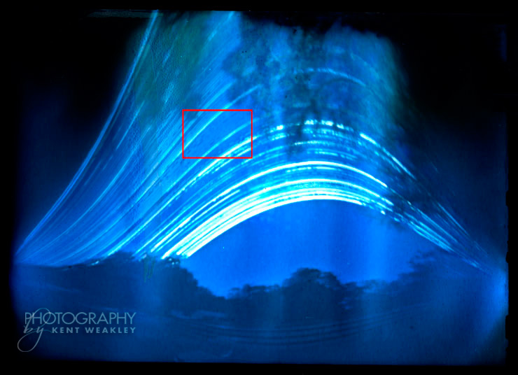 Pinhole Long Exposure Sun Trails
