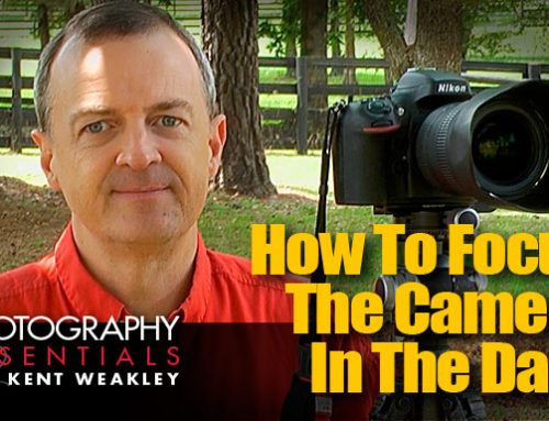 How To Focus The Camera In The Dark