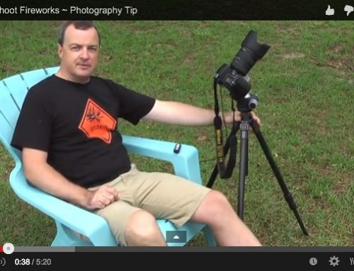 Video Photography Tip ~ Shooting Fireworks